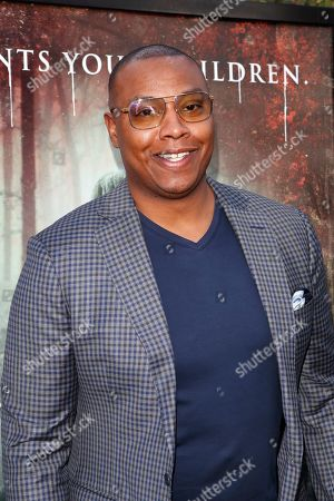 US basketball player Caron Butler arrives for the premiere of Warner Bros' 'The Curse Of La Llorona' at the Egyptian Theatre in Hollywood, Los Angeles, California, USA, 15 April 2019. The movie will be released in the US on 19 April.