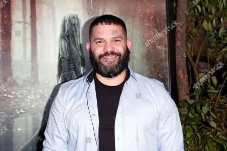 Guillermo Diaz arrives for the premiere of Warner Bros' 'The Curse Of La Llorona' at the Egyptian Theatre in Hollywood, Los Angeles, California, USA, 15 April 2019. The movie will be released in the US on 19 April.