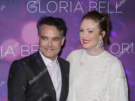 Sebastian Lelio and Julianne Moore