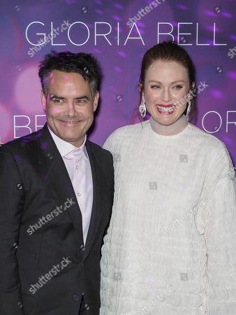 Stock Image of Sebastian Lelio and Julianne Moore