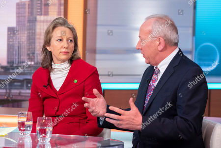 Dr Gail Bradbrook and Peter Bleksley