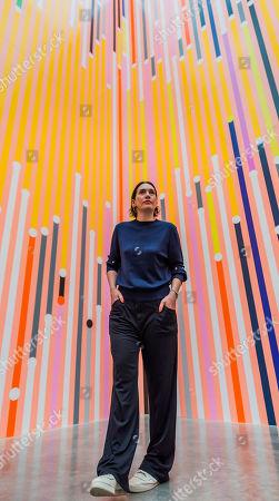 Sarah Morris with Ataraxia, 2019