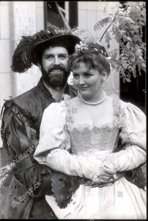John Cleese Comedian John Cleese And Sarah Badel In The Bbc Production Of Tamming Of The Shrew