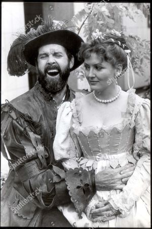 John Cleese Comedian John Cleese And Sarah Badel In The Bbc Production Of Tamming Of The Shrew....comedian