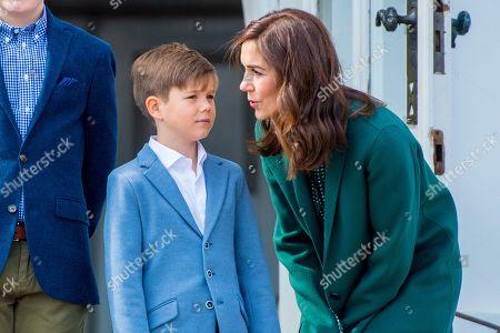 Crown Princess Mary and Prince Vincent