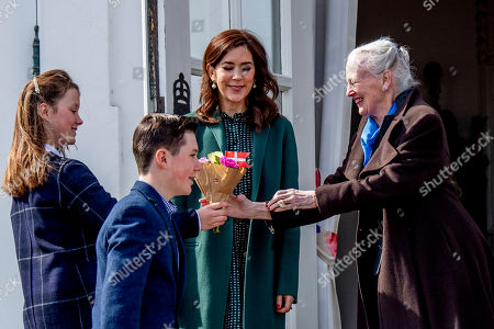 Editorial photo of Queen Margrethe 79th birthday celebrations, Marselisborg Palace, Aarhus, Denmark - 16 Apr 2019