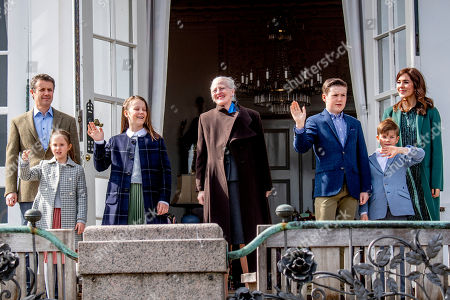 Editorial image of Queen Margrethe 79th birthday celebrations, Marselisborg Palace, Aarhus, Denmark - 16 Apr 2019