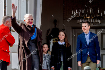Queen Margrethe II, Princess Josephine and Prince Vincent