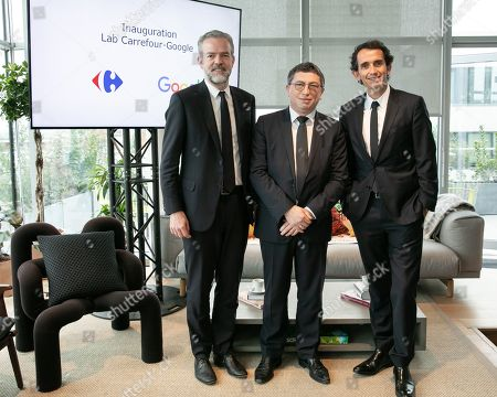 Editorial photo of Inauguration of the Carrefour-Google Lab, Paris, France - 16 Apr 2019