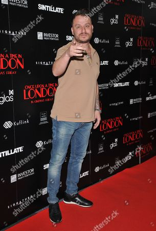 Editorial image of 'Once Upon A Time In London' film premiere, The Troxy, London, UK - 15 Apr 2019