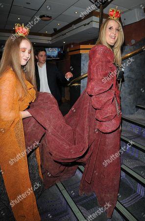 Afton McKeith and Gillian McKeith