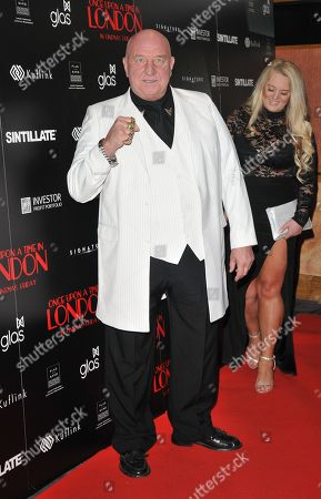 Stock Photo of Dave Courtney