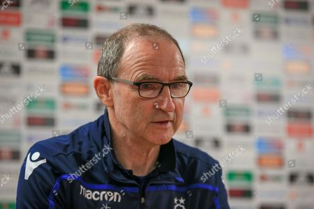 19th April 2019, Bramall Lane, Sheffield, England; Sky Bet Championship, Sheffield United vs Nottingham Forest ;  Martin O?Neill manager of Nottingham Forest questions the validity of the red card to Yohan Benalouane (29) of Nottingham Forest in the second half Credit: Craig Milner/News Images English Football League images are subject to DataCo Licence