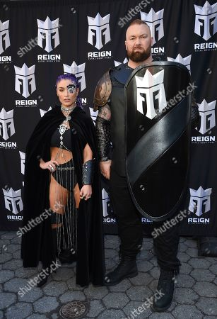 Editorial picture of Monster Energy Launches Reign Total Body Fuel, New York, USA - 16 Apr 2019