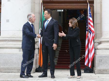 Congressman Richard Neal, Taoiseach Leo Varadkar and Nancy Pelosi, Speaker of the United States House of Representatives