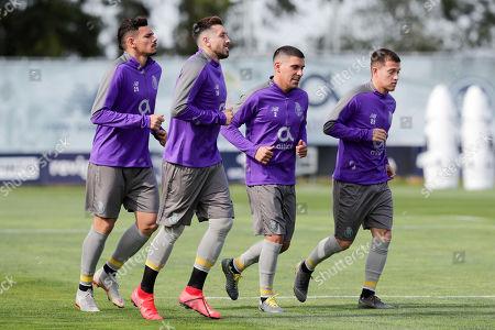 Editorial picture of FC Porto training session, Vila Nova De Gaia, Portugal - 16 Apr 2019