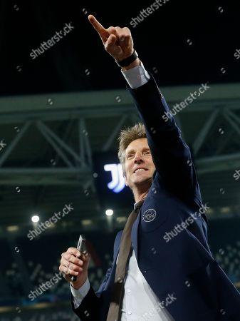 Ajax general director Edwin van der Sar during the UEFA Champions League quarter final match