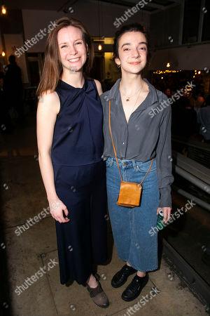 Rebecca Frecknall (Director) and Patsy Ferran (Olga Sergeyevna)