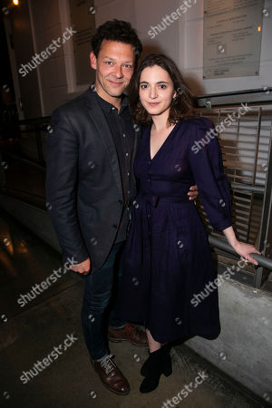 Stock Image of Richard Coyle and Pearl Chanda (Masha Sergeyevna)