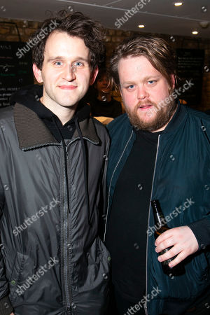 Stock Picture of Harry Melling and Danny Kirrane