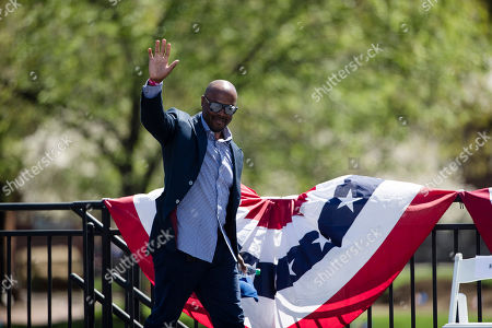 Stock Picture of Former Philadelphia Phillies' Jimmy Rollins during a Major League Baseball news conference, on Independence Mall in Philadelphia. Baseball's 2026 All-Star Game will be played in Philadelphia to mark the 250th anniversary of the Declaration of Independence