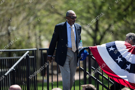 Stock Image of Former Philadelphia Phillies' Phillies Dave Cash during a Major League Baseball news conference, on Independence Mall in Philadelphia. Baseball's 2026 All-Star Game will be played in Philadelphia to mark the 250th anniversary of the Declaration of Independence