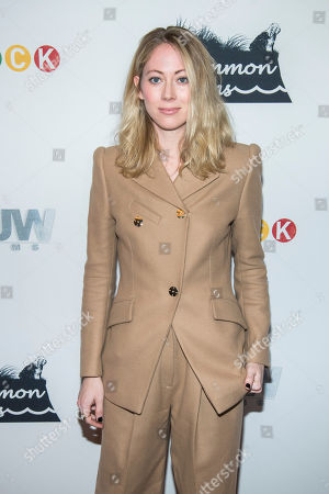 "Paten Hughes attends the premiere of ""Stuck"" at The Crosby Hotel, in New York"