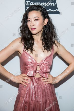 """Arden Cho attends the premiere of """"Stuck"""" at The Crosby Hotel, in New York"""