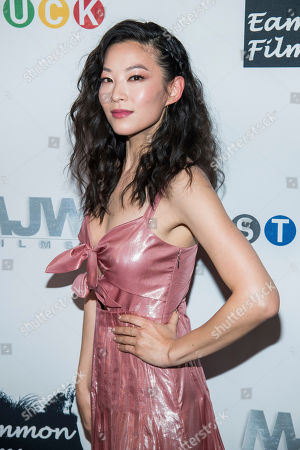 """Stock Image of Arden Cho attends the premiere of """"Stuck"""" at The Crosby Hotel, in New York"""