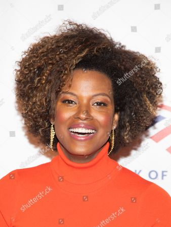 Stock Picture of Cassandra Freeman attends the Food Bank for New York City Can-Do Awards at Cipriani Wall Street, in New York