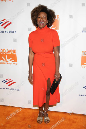 Cassandra Freeman attends the Food Bank for New York City Can-Do Awards at Cipriani Wall Street, in New York