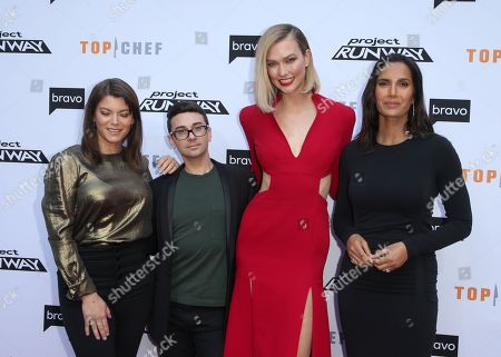 Gail Simmons, Christian Siriano, Karlie Kloss, Padma Lakshmi