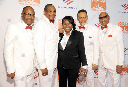 "Lawrence Payton Jr., Alex Morris, Lewis (Ronnie) McNeir, and Abdul ""Duke"" Fakir and Margarette Purvis"