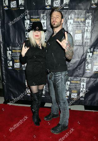 Sally Steele and Nick Hawk