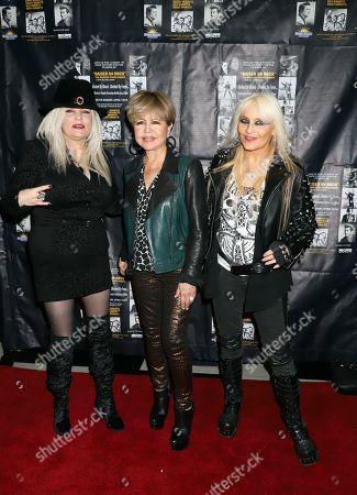 Sally Steele, Pia Zadora and Doro Pesch