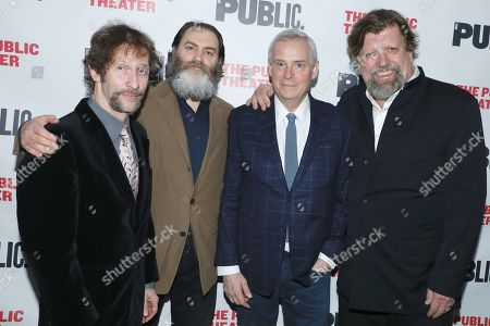 Editorial picture of 'Socrates' Off Broadway opening night, New York, USA - 16 Apr 2019