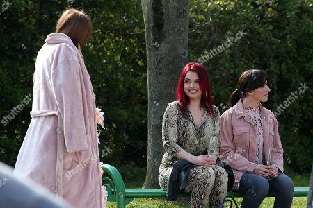Maisie Smith, Natalie Cassidy and Shona McGarty