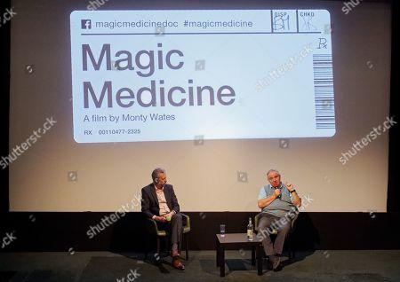 Professor David Badcock and Professor David Nutt
