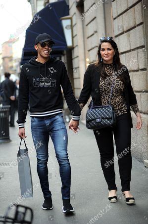 Joao Miranda and wife Jaqueline