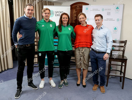 Editorial image of Olympic Federation of Ireland And Sport Ireland Announcement, Dublin  - 17 Apr 2019