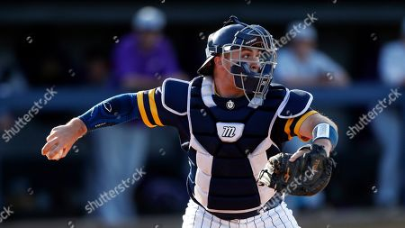 Murray State's Joe McMahon throws to second base during an NCAA college baseball game against Evansville, in Murray, Ky