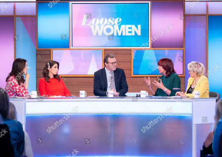 Andrea McLean, Stacey Solomon, Andrew Morton, Janet Street-Porter and Gloria Hunniford
