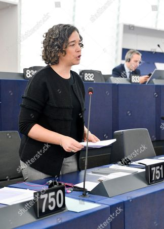 Sofia Ribeiro, Member of the European Parliament during the debate