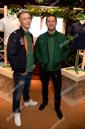 Ben Fletcher and Tyrone Wood
