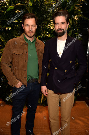 Paul Sculfor and Jack Guinness