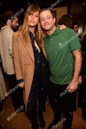 Jess Clarke and Tyrone Wood