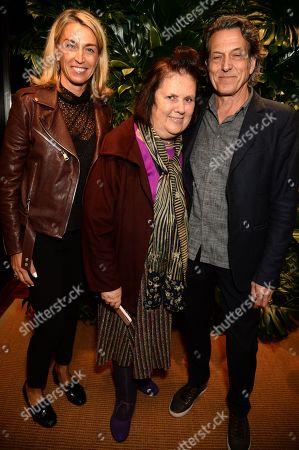 Meg Mathews, Suzy Menkes and Stephen Webster