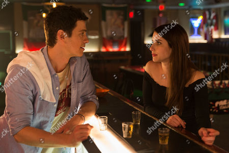 Stock Picture of Hayden Christensen as Leo Campo and Emma Roberts as Nikki Angioli