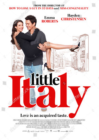 Editorial picture of 'Little Italy' Film - 2018