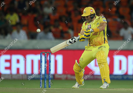 Chennai Super King's Shane Watson plays a shot during the VIVO IPL T20 cricket match between Sunrisers Hyderabad and Chennai Super Kings in Hyderabad, India